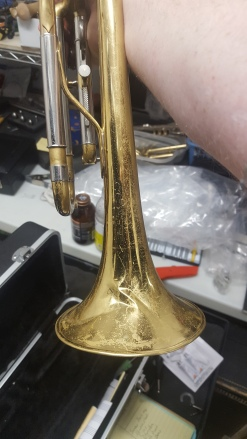 Jupiter trumpet repair, Music Time Academy Livermore California Brass Woodwind Band instrument repair shop