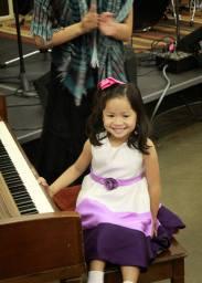 smiley piano